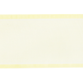 Лента для бантов ширина 80 мм цвет желтый 1 метр фото