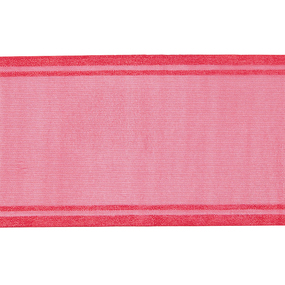 Лента для бантов ширина 80 мм цвет малина 1 метр фото