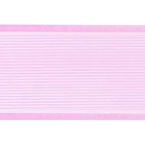 Лента для бантов ширина 80 мм цвет розовый 1 метр фото