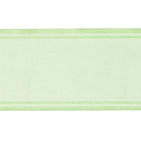 Лента для бантов ширина 80 мм цвет салатовый 1метр фото