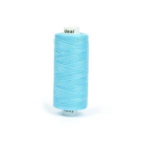 Нитки бытовые IDEAL 40/2 366м 100% п/э, цв.319 голубой фото
