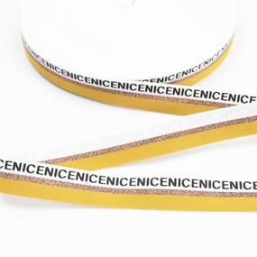 Тесьма белый золото желтый NICE 2см 1 метр фото