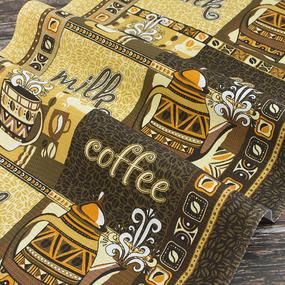 Набор вафельных полотенец 3 шт 50/80 см 99221 Кофе фото