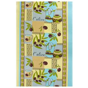 Набор вафельных полотенец 3 шт 50/80 см 93371 Оливки желтые фото