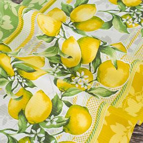 Набор вафельных полотенец 3 шт 50/80 см 198561 Лимоны фото