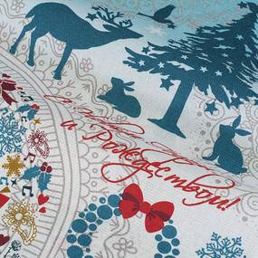 Набор вафельных полотенец 3 шт 50/60 см Я010492 Северная сказка фото
