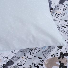 Детское постельное белье 28326/1 Исландия 1.5 сп поплин фото