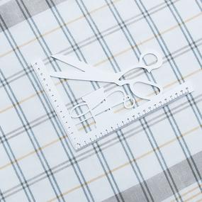 Полулен полотенечный 50 см 3/85/11 Клетка лавр весенний 113358 фото