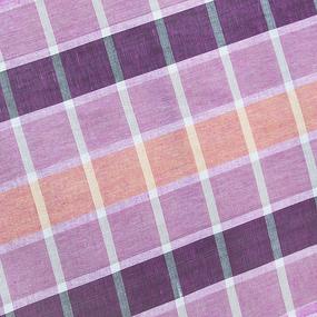 Полулен полотенечный 50 см 3/89/78 Клетка розово-голубая 113358 фото
