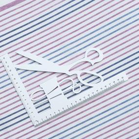 Полулен полотенечный 50 см 3/63/10 Полоса 703096 фото