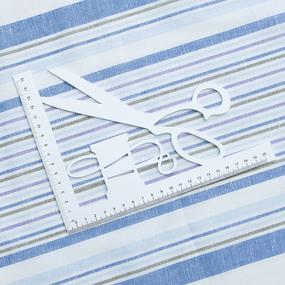 Полулен полотенечный 50 см 3/47/52 Полоса бирюза лаванда 703096 фото