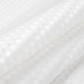 Халат мужской вафельный шалька 240 гр. ячейка 7х7 см белый р.46 фото