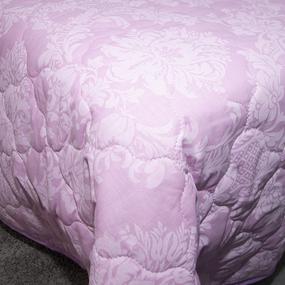 Покрывало стеганое Агат (розовый) 10333/3 пудра 180/210 фото