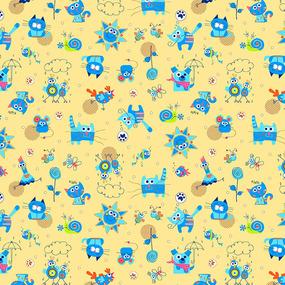Ткань на отрез фланель 90 см 5569/4 Кот и Пес фото