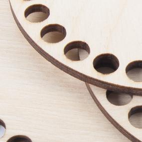 Деревянное донышко для корзин прямоугольник с закругленными углами 20/15 см фото