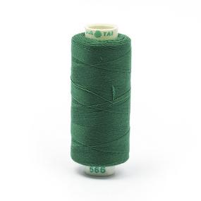 Нитки бытовые Dor Tak 40/2 366м 100% п/э, цв.566 зеленый фото