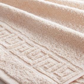 Полотенце махровое Туркменистан 40/65 см цвет бежевый S KAHVE фото