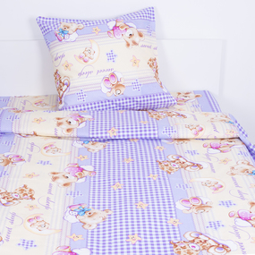Детское постельное белье из бязи 1.5 сп 10349/1 Сладкий сон вид 2 с 1-й нав. 50/70 фото