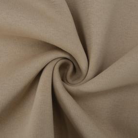 Ткань на отрез футер 3-х нитка компакт пенье начес цвет таба фото