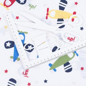 Маломеры поплин 150 см 2014 Самолеты 11 м фото