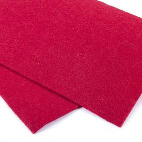 Фетр листовой мягкий IDEAL 1 мм 20х30 см FLT-S1 упаковка 10 листов цвет 607 красный фото
