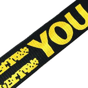 Лампасы №114 черный желтый YOU 2,5 см уп 10 м фото