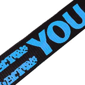 Лампасы №113 черный синий YOU 2,5 см уп 10 м фото