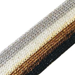 Лампасы №101 серый белый коричневый черный люрекс золото серебро 2 см уп 10 м фото