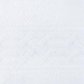 Полотеце махровое Восток ПТХ-1201-02644 100/150 см цвет белый фото