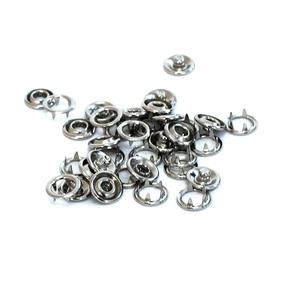 Кнопка Strong рубашечная 9,5 мм никель уп 60 шт фото