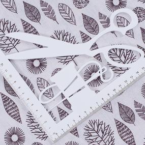 Ткань на отрез лен TBY-DJ-10 Лес фото