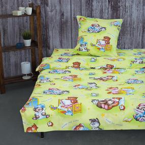 Детское постельное белье из бязи 1.5 сп 4288/1 Спокойной ночи фото