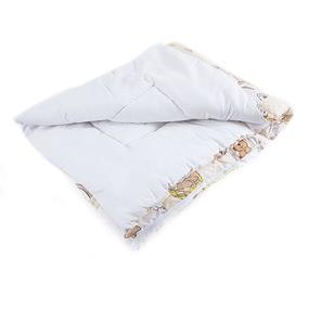 Одеяло детское лоскутное 110*140 термофайбер фото