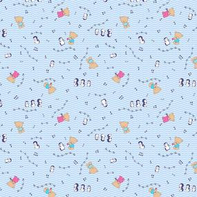 Ситец 95 см набивной арт 44 Тейково рис 21168 вид 8 Музыкальные нотки фото