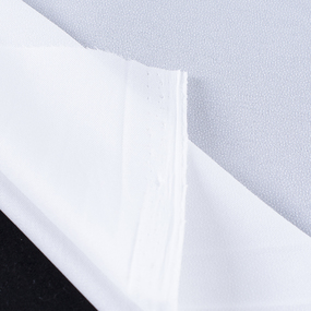 Ткань на отрез дублерин точечный 150 см 50 гр/м2 цвет белый фото