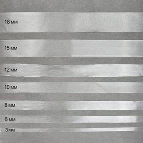 Лента силиконовая матовая ширина 6 мм толщина 0.12 мм фото