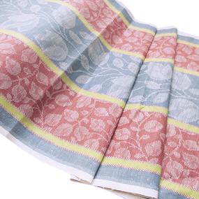 Ткань на отрез полулен полотенечный 50 см Жаккард 1/136/93 фото