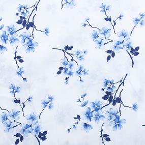 Мерный лоскут бязь о/м 120 гр/м2 150 см 157/1 цвет голубой фото