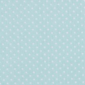 Мерный лоскут бязь плательная 150 см 7223/7 Мелкие звездочки 0.5 см о/м цвет мята фото
