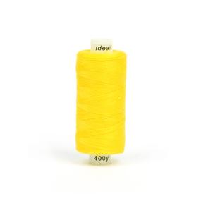 Нитки бытовые IDEAL 40/2 366м 100% п/э, цв.127 желтый фото