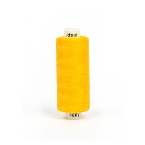 Нитки бытовые IDEAL 40/2 366м 100% п/э, цв.138 желтый фото