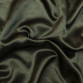 Мерный лоскут шелк искусственный 100% полиэстер 220 см цвет темно-зеленый фото