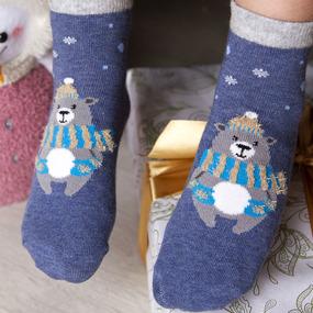 Носки Зимняя сказка детские р 18-20 фото