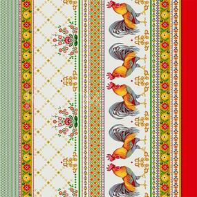 Вафельное полотно набивное 150 см Усадьба 10389/1 фото