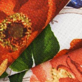 Ткань на отрез вафельное полотно 50 см 170 гр/м2 5456/1 фото