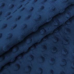 Плюш Минки Китай 180 см на отрез цвет василек фото