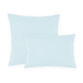 Наволочка сатин 14-4504 цвет серо-голубой 70/70 фото