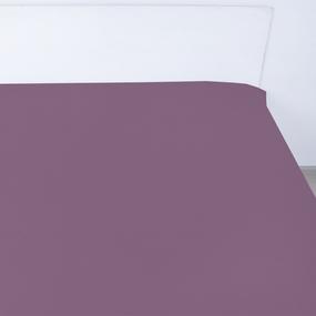 Простыня сатин 17-1610 цвет брусника 1.5 сп фото