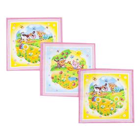 Платок носовой детский ситец 18751/1 10 шт розовый фото