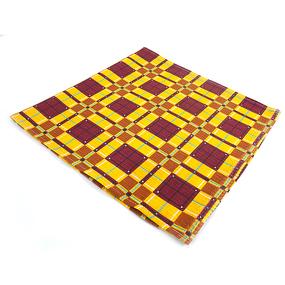 Полотенце вафельное банное 150/75 см 397/3 Новая клетка цвет бордовый фото